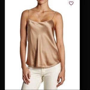 Vince Scallop Silk Camisole. Size M & L. NWT.